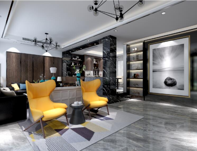 <b>星凯·海纳城三室现代风格</b>