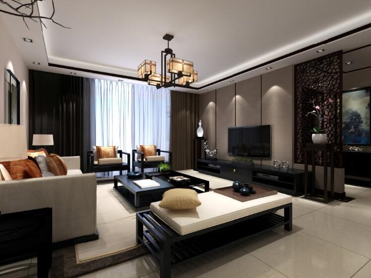 金辰富海广场中式140平米三室