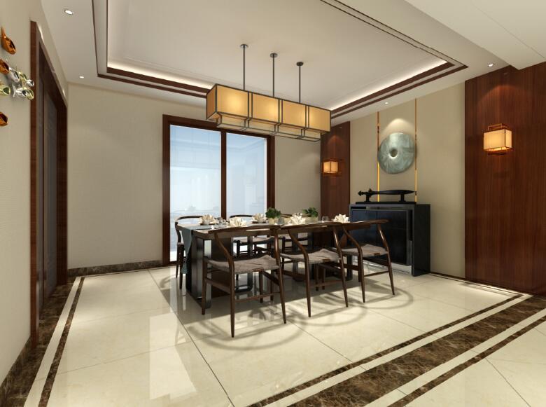 玉香园中式190M²四室