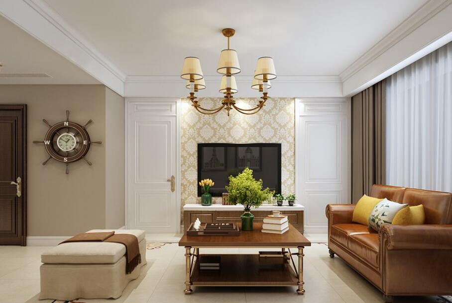 科瑞·瑞香苑120平三室简美风格